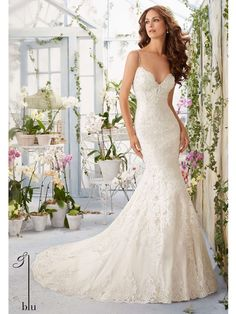 House of brides Blu by Mori Lee - Wedding Dress Style No.5415