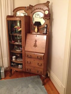 Western Rustic Furniture for your home Diy Furniture Plans, Find Furniture, Home Decor Furniture, Rustic Furniture, Home Furnishings, Street Furniture, Victorian Furniture, Antique Furniture, Antique Secretary Desks