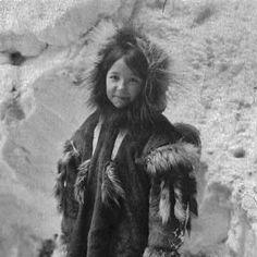 inuit girl, ca1920.