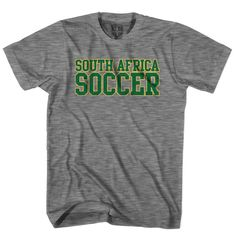 South Africa Soccer Country T-shirt