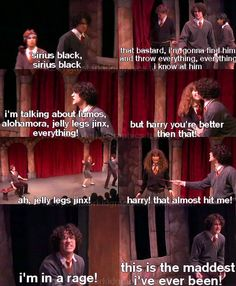 When AVPM is more accurate than the actual Harry Potter movies. <<< I know really want to watch this play Harry Potter Musical, Harry Potter Fandom, Harry Potter Memes, Darren Criss, Chris Colfer, A Very Potter Sequel, Must Be A Weasley, Avpm, Team Starkid