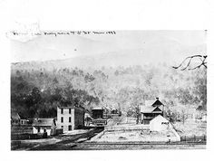 Elmo in showing several buildings and a streetcar. From the Hiener Collection, Acc Chattanooga Choo Choo, Downtown Chattanooga, Chattanooga Tennessee, Nashville, Lookout Mountain Tennessee, Places Of Interest, Elmo, Ancestry, Family History