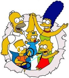 The Simpsons│ Los Simpson - - - - - - Homer Simpson, Homer And Marge, The Simpsons, Simpsons Party, Simpsons Episodes, Simpsons Drawings, Desenhos Harry Potter, Cartoon Pics, Happy Fathers Day