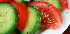 Foodista | Recipes, Cooking Tips, and Food News | Tomato and Cucumber Diabetic Salad