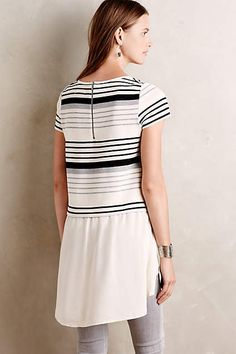 Gradient Stripe Tee - anthropologie.com