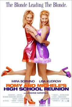 Too funny! ROMY AND MICHELLE'S HIGH SCHOOL REUNION (1997) with Mira Sorvino and Lisa Kudrow