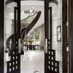 """Gorgeous Art Deco doors and entry"" ""elegance of Art Deco."" ""art deco"""