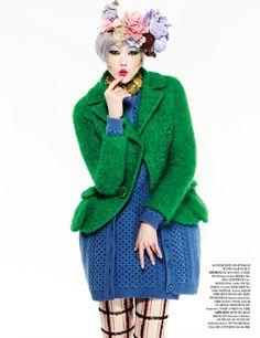 Harpers Bazaar Korea Jan 2013 - via iForJewels