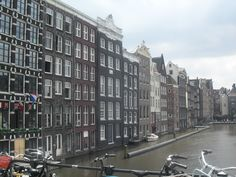 The centre of Amsterdam
