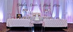 #wedding #decor #backdrop #headtable #caketable #weddingdecor #cake #centerpieces