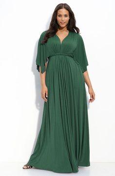 Plus dress maxi kaftan