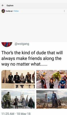 My social little cinnamon roll Thor