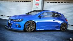 Volkswagen Scirocco R custom by dangeruss on deviantART