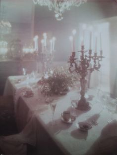 This is a photograph taken by photographer Edgar de Evia in the of the dining room in his home in the Rhinelander Mansion, Manhattan, New York City. Half Elf, Nature Architecture, La Reverie, The Ancient Magus, Night Circus, Looks Cool, Oeuvre D'art, Ethereal, Creepy