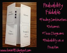 Classroom Freebies Too: Probablility Foldable