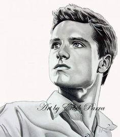Hunger Games Fan Art / Peeta / Catching Fire