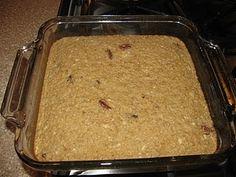 Shelf Stable Recipes: Baked Oatmeal
