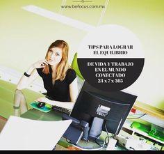 Tips para lograr el equilibrio de vida y trabajo en un mundo contectado 24x7x365
