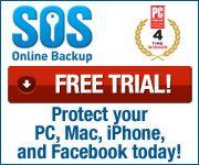 Free Trail - SOS Award winning online backup