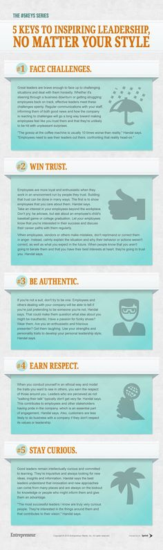 5 Keys to Inspiring Leadership, No Matter Your Style (Infographic)
