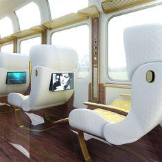 Design : L'Eurostar vu par Christopher Jenner .ad Inspiration thibault fagu blog