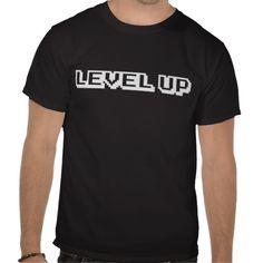 Retro Level Up Tshirts