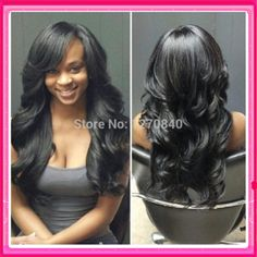 100% unprocessed brazilian virgin hair wig body wave with bangs glueless full lace & lace front wigs side part for black women