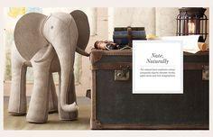 Felt Elephant by Restoration Hardware baby and child