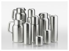 Vacuum Flasks Designed by Office for Product Design for Serafino Zani