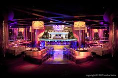 XS Nightclub Las Vegas. Our booth was the one to the left of the ramp. Best nightclub in the world, hands down!