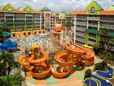 Cool pools in Orlando, FL - check out these resorts!