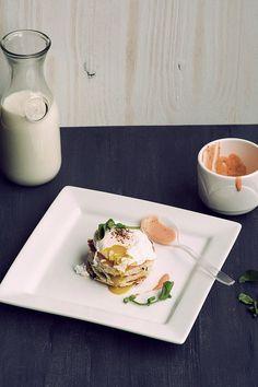 Poached Egg with Sriracha Mayo