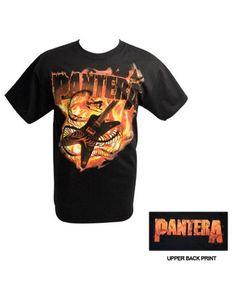 Pantera Guitar Snake Mens T-shirt - Guaranteed Authentic.  Fast Shipping.