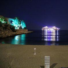 #Larvotto Nossa equipe na Austrália já acordou, mas aqui em Mônaco estamos indo dormir. Amanhã tem mais fotos do principado. Boa noite! #lemeridienmonaco #hotel #luxo #monaco #europa #falandodeviagem @visitemonaco by falandodeviagem from #Montecarlo #Monaco