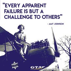 Amy Johnson (1903 -1941)  #quotes #inspirationalquotes #aviation #aviationquotes #inspirational #positive #positivequotes #quotes #history #amyjohnson