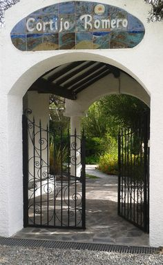 Gate to Cortijo Romero