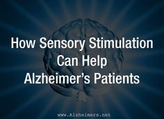 Originally used in Europe, sensory stimulation has gained prominence in the United States as a therapy for Alzheimer?s Disease. Nursing Home Activities, Elderly Activities, Senior Activities, Spring Activities, Physical Activities, Dementia Awareness, Dementia Care, Alzheimer's And Dementia, Music Therapy