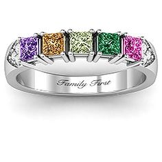 This is my dream family ring!!!!