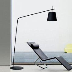 Lampe sur pied contemporaine en métal CRANY Lirio