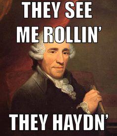 Haydn Music Meme