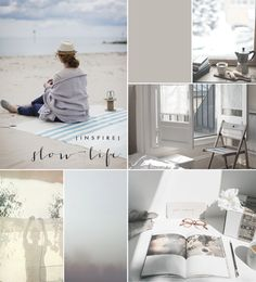 MOODBOARD: SLOW LIFE | | Harmony and design |