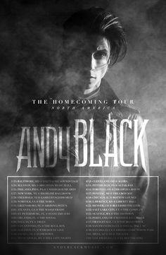 "Andy Black Announces ""The Homecoming Tour"" for North America"