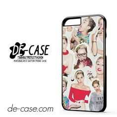 Miley Cyrus College DEAL-7236 Apple Phonecase Cover For Iphone 6 / 6S