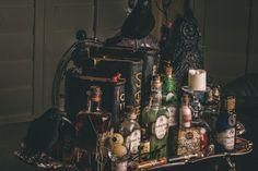 Potion Display for Halloween