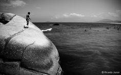 Joaquina Beach, Florianópolis, Brasil. Photo by Ricardo Junior