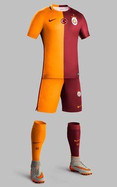 Galatasaray 2015-16 Nike Home Kits