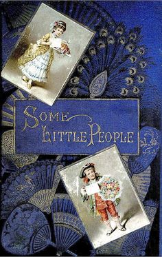 Some Little People (c1888) by George Kringle, illustrated by Kate Greenaway - Cover