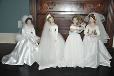 OWN - Ashton drake Bride doll collection summer, winter, fall, spring all included set