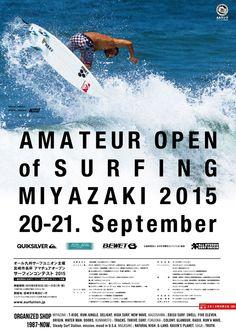 AMATEUR OPEN of SURFING MIYAZAKI  2015