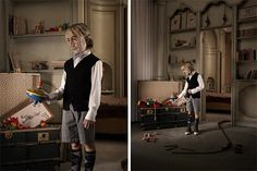 Creepy Photos for a Cause by Winkler+Noah & Armando Testa.  Fighting against children's diabetes.
